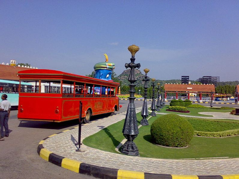 Inside Ramoji Film City, Hyderabad