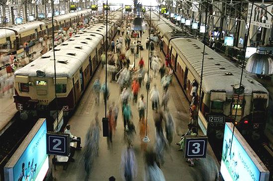 Churchgate Train station Mumbai