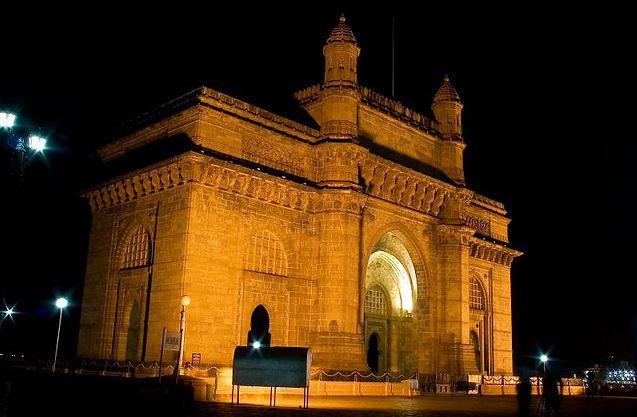 Gateway of India at night Mumbai